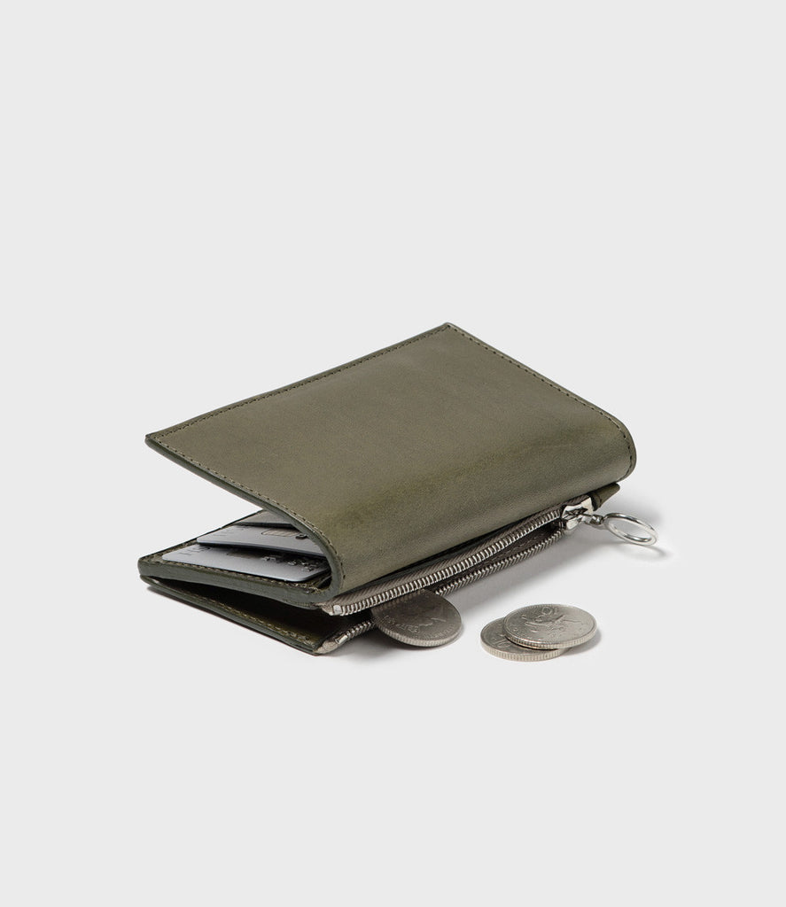 REBEL - SIMPLE SLIM WALLET - KHAKI