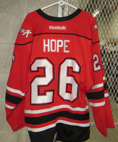 #26 Kyle Hope Game Worn Jersey