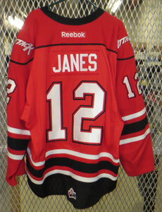 #12 Steven Janes Game Worn Jersey