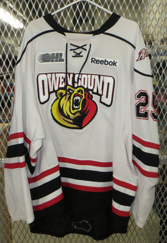 #25 Daniel Zweep Game Worn Jersey