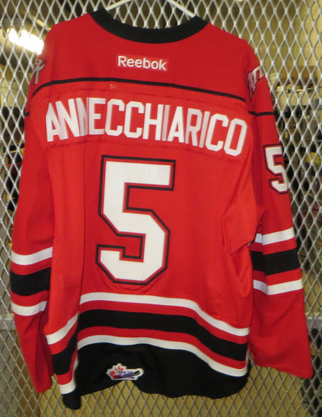 #5 Alex Annecchiarico Game Worn Jersey