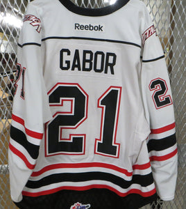 #21 Gilbert Gabor Game Worn Jersey