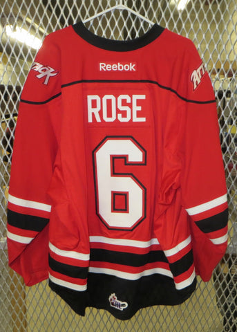 #6 Brayden Rose Game Worn Jersey
