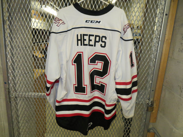 #12 Ryan Heeps Game Worn Jersey