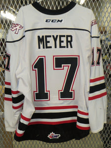 #17 Jarett Meyer Game Worn Jersey