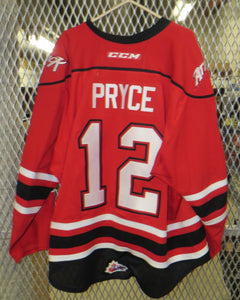 #12 Nick Pryce Game Worn Jersey