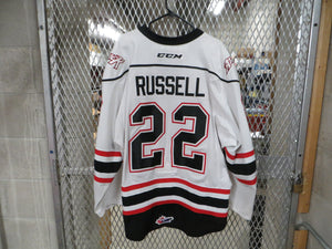 #22 Mitchell Russell Game Worn Jersey