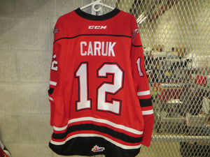 #12 Bryce Caruk Game Worn Jersey