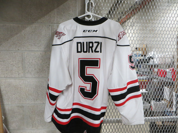 #5 Sean Durzi Game Worn Jersey
