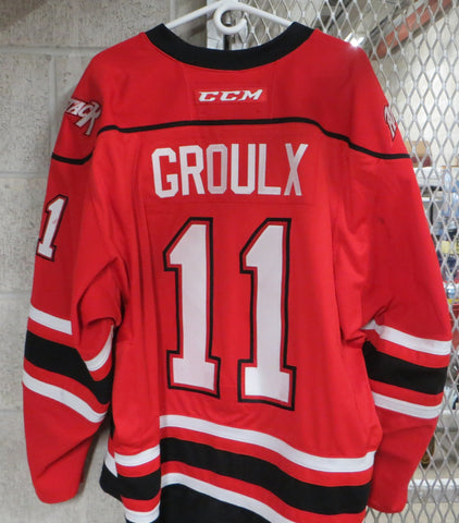 #11 Daylon Groulx Game Worn Jersey