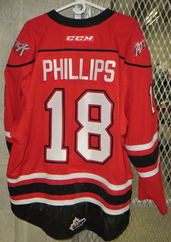 #18 Markus Phillips Game Worn Jersey