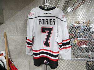 #7 Zach Poirer Game Worn Jersey