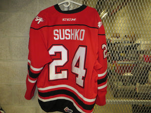 #24 Maksim Sushko Game Worn Jersey