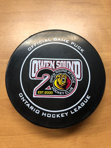 20th Anniversary Official Game Puck