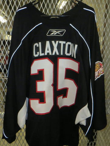 #35 Paul Claxton Warmup Jersey