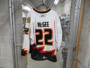 #22 Grant McGee Game Worn Jersey