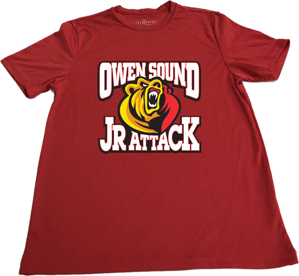 ATC  Performance 100% Polyester Short Sleeve Jr Attack T-shirt - Youth