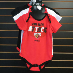 CCM 3 Piece Infant Bodysuit