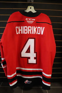 #4 Igor Chibrikov Game Worn Jerseys