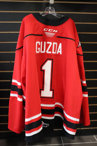 #1 Mack Guzda Game Worn Jersey
