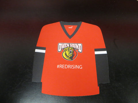 Owen Sound Attack Jersey Mouse Pad