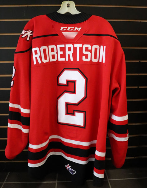 #2 Carter Robertson Game Worn Jersey