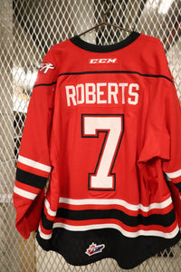 #7 Zach Roberts Game Worn Jerseys