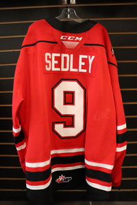 #9 Sam Sedley Game Worn Jerseys