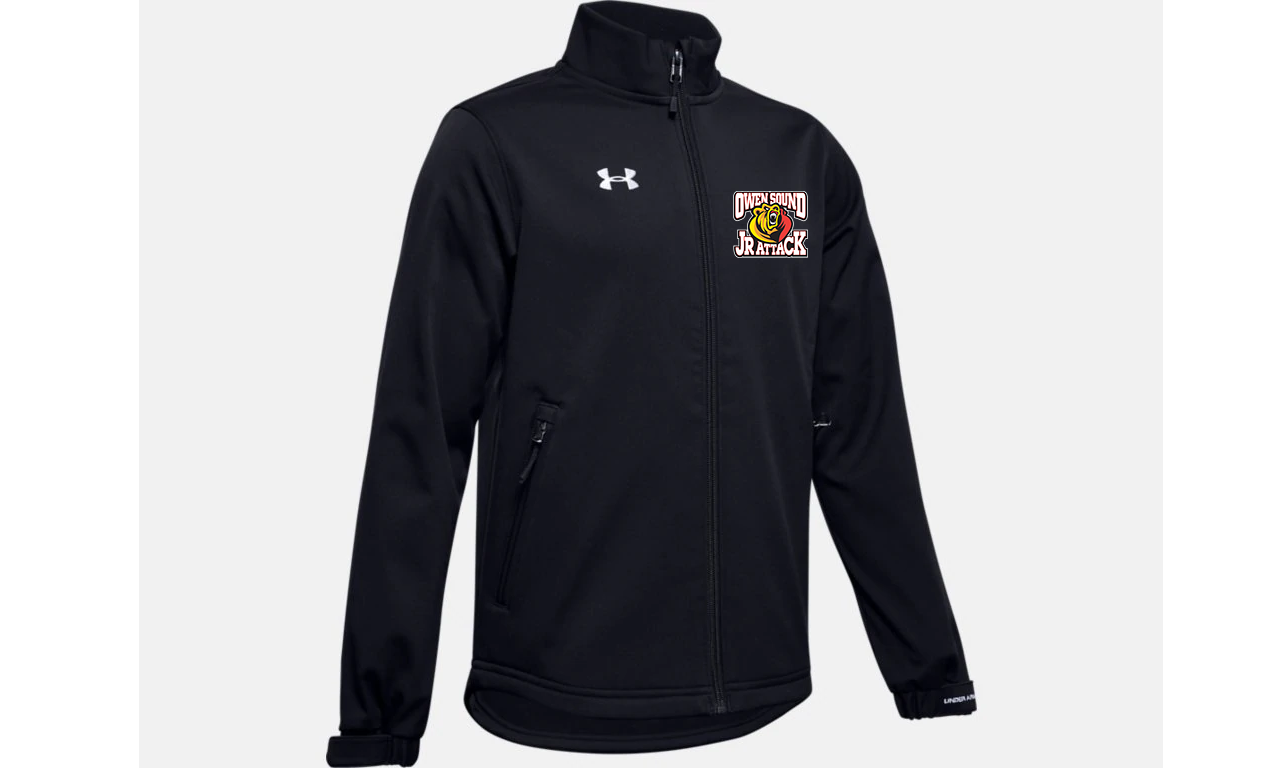 Under Armour Hockey Jr Attack SoftShell Jacket- Youth
