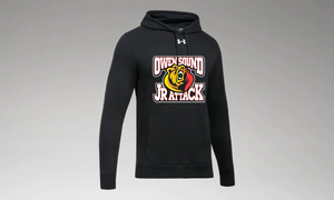 Under Armour Hustle Fleece Jr. Attack Hoody - Youth