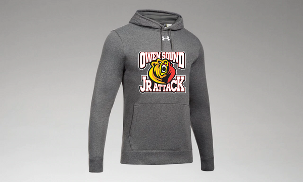 Under Armour Hustle Fleece Jr. Attack Hoody - Adult