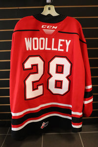 #28 Mark Woolley Game Worn Jersey