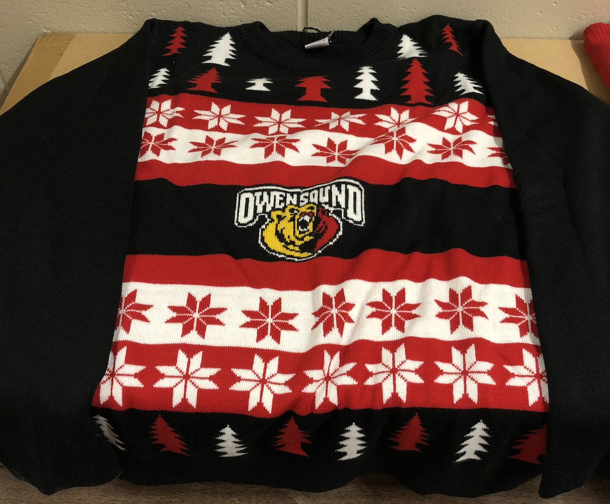 BarDown Ugly Christmas Sweater