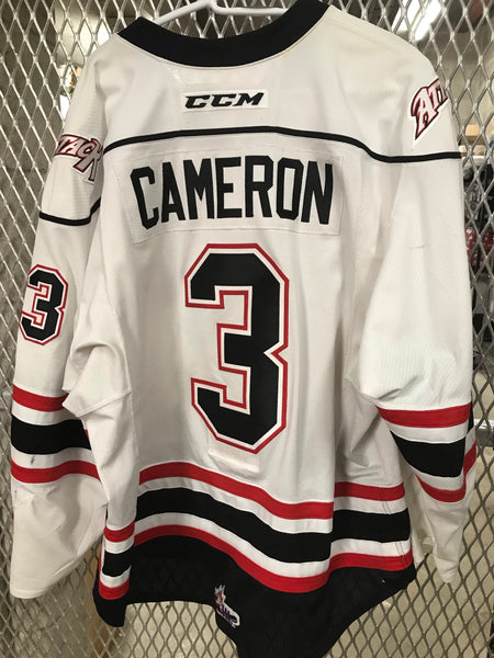 #3 Cole Cameron Game Worn Jersey