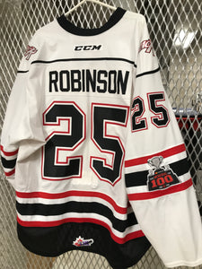 #25 Cade Robinson Game Worn Jersey