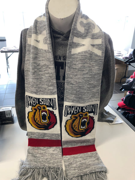 BarDown Attack Scarf - Grey