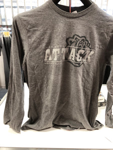 Mustang Long Sleeve T-shirt - Grey