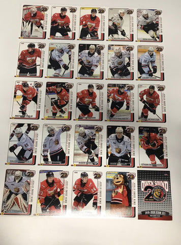 18 x13 Hockey Card Sheets