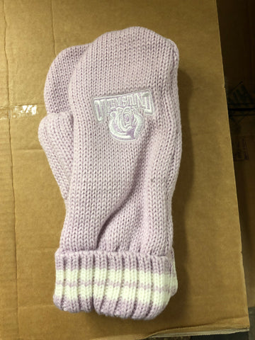 Adult Mittens - Purple