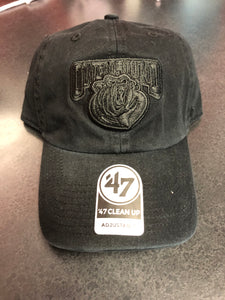Brand 47 Black on Black Adjustable Attack Hat