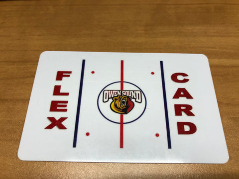 Owen Sound Attack Ticket Flex Card