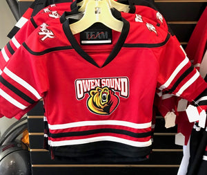 Owen Sound Attack Infant/Toddler Replica Jerseys - Red