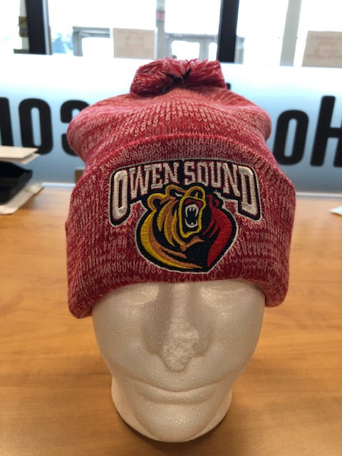 Bardown Custom Toque - Pom Pom - red pepper