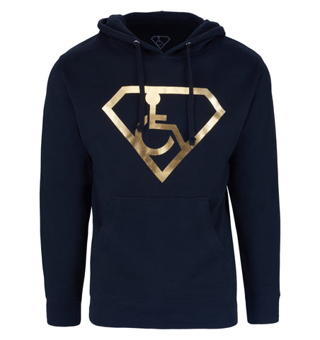Adaptive S-Man Gold Foil Hoodie