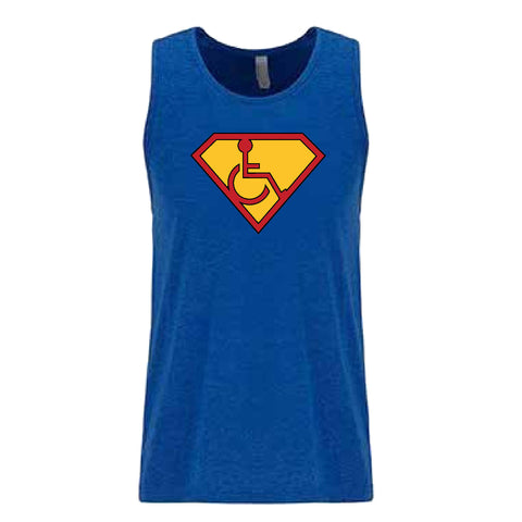 Men's Adaptive S-Man Tank Top - Dark Logo