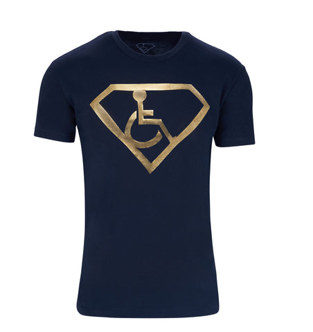 Men's Adaptive S-Man Gold Foil T-Shirt