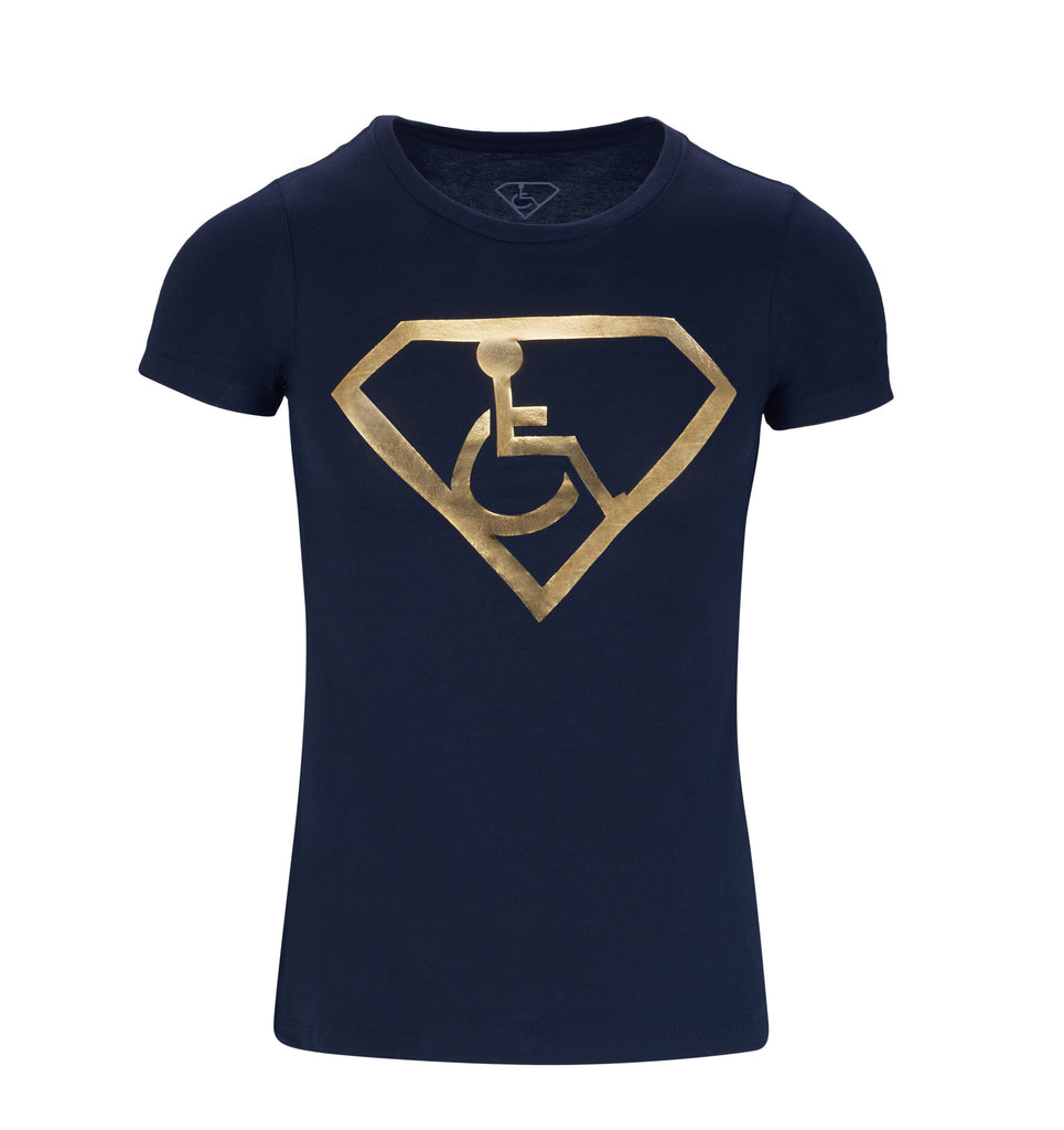 Women's Adaptive S-Man Gold Foil T-Shirt