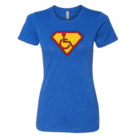 Women's Adaptive S-Man T-Shirt - Dark Logo