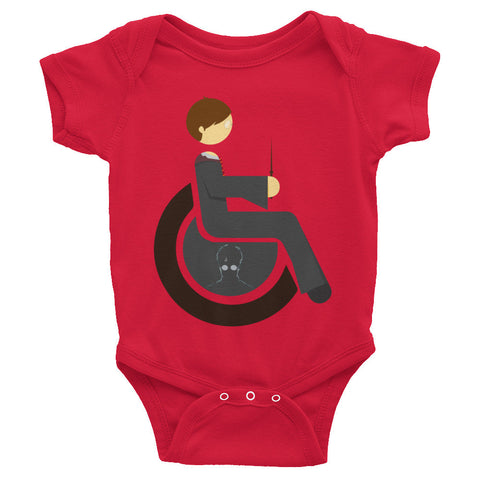 Adaptive Harry Potter Baby Onesie