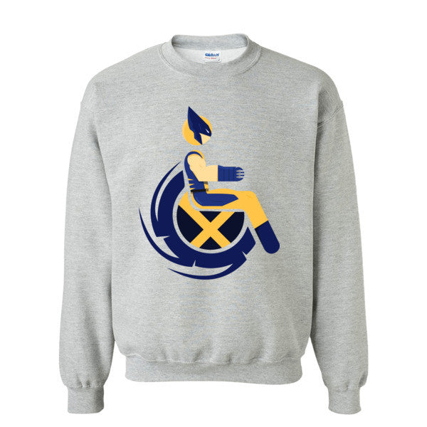 Men's Adaptive Wolverine Crewneck Sweatshirt